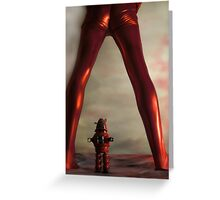 Planet of Forbiden Pleasures Greeting Card
