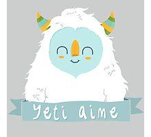French Yeti Photographic Print