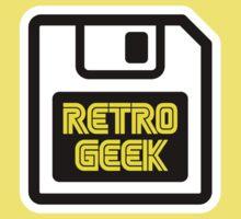 Retro Geek Kids Tee