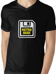 Retro Geek Mens V-Neck T-Shirt