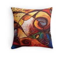 Rising Above the Clamor Throw Pillow