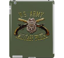 Military Police Crossed Pistols iPad Case/Skin