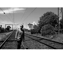 008? Secret Agent Noir Photographic Print