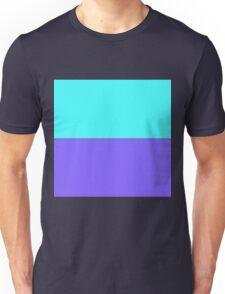Purple & Aqua Unisex T-Shirt