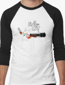 EVIL CAT Men's Baseball ¾ T-Shirt