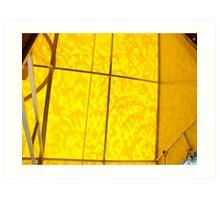 mood enhancing awning (view large) Art Print