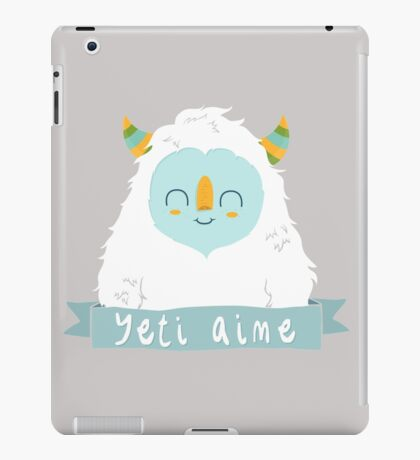 French Yeti iPad Case/Skin