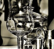 Glass and Pewter by Bob Wall