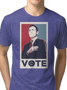 Dick Roman for Office Tri-blend T-Shirt