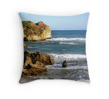 Along the Great Ocean Road - Victoria Throw Pillow