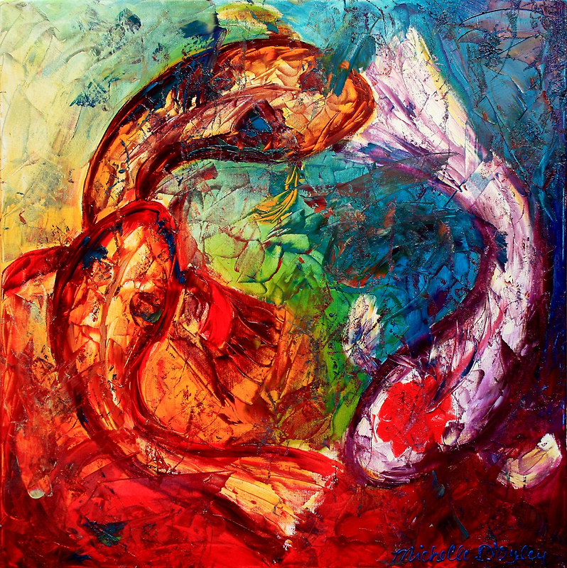 Within the Circle by Abstract D'Oyley