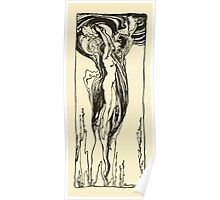 Comus Illustrated by Arthur Rackham 1921 0179 Surfacing Poster