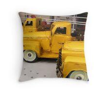 toy trucks Throw Pillow