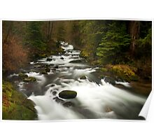 Sweet Creek, Oregon #2 Poster