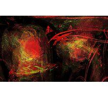 masks & blood ribbons #4 Photographic Print