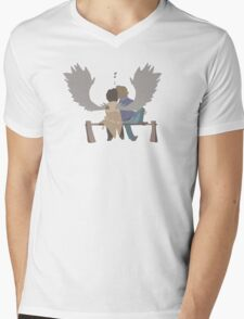Destiel Mens V-Neck T-Shirt