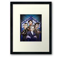 The Doctors Four Framed Print