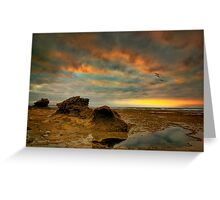 Disapointing Sunrise Greeting Card