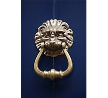 Xtreme Piercing Door Knocker Photographic Print