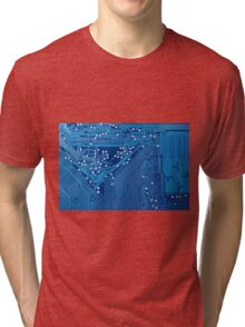 Circuit board Tri-blend T-Shirt