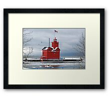 January Light Framed Print