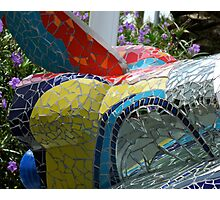 Mosaic Shuttle Photographic Print