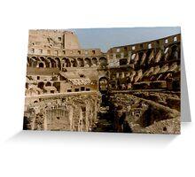 Roman Colisseum Greeting Card
