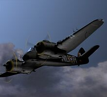 Cats Eyes, (Bristol Beaufighter nightfighter) by coldwarwarrior