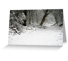 Narnia Greeting Card