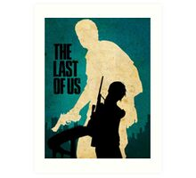 The Last Of Us Road to survival Art Print