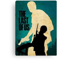 The Last Of Us Road to survival Canvas Print