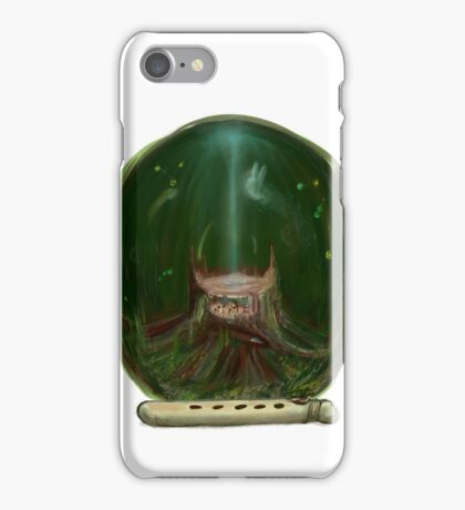 Lost woods song iPhone Case/Skin