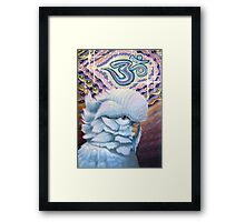 Bubble G'Ohm Budgie-Sattva Framed Print