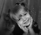 Little Girl Smiling  by Evita
