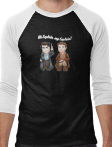 Oh Captain, My Captain! Men's Baseball ¾ T-Shirt