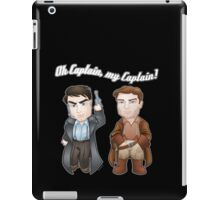 Oh Captain, My Captain! iPad Case/Skin