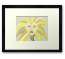 Painted Icon Framed Print