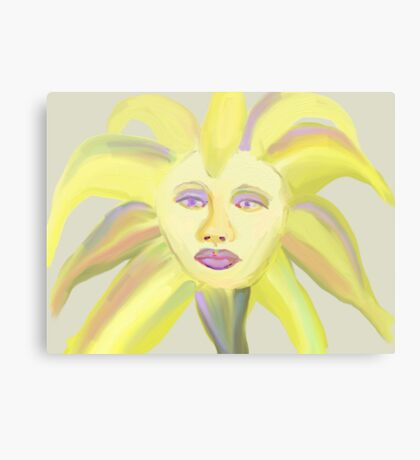Painted Icon Canvas Print