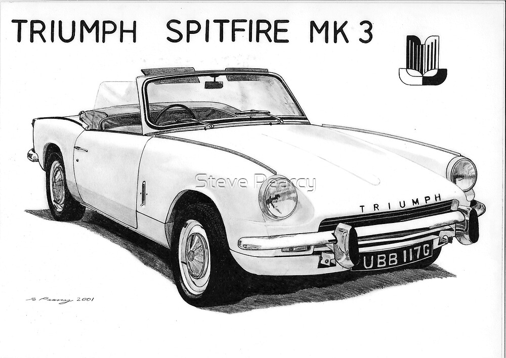 Triumph Spitfire by Steve Pearcy