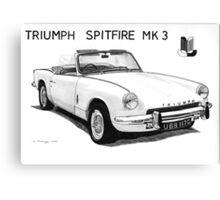 Triumph Spitfire Canvas Print