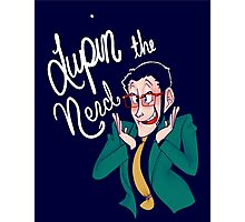 Lupin the Nerd Photographic Print