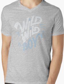 Wild Wild Boy Mens V-Neck T-Shirt