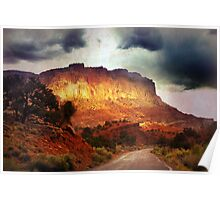 Capitol Reef - Texture Poster