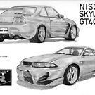 Nissan Skyline GT400R by Steve Pearcy