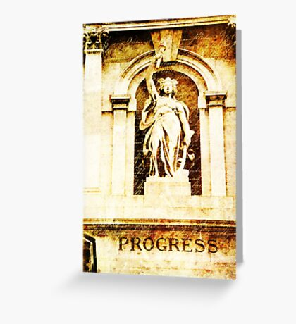Progress Greeting Card