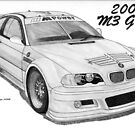 BMW M3 GTS (2001) by Steve Pearcy
