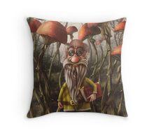Aalbert Van Edeborg from Mushroom Mountains Throw Pillow