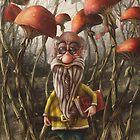 Aalbert Van Edeborg from Mushroom Mountains by Alexander Skachkov