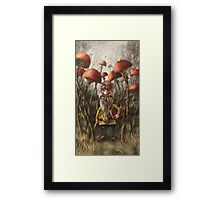 Aalbert Van Edeborg from Mushroom Mountains Framed Print