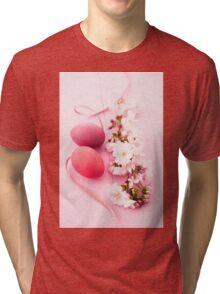 Easter eggs Tri-blend T-Shirt